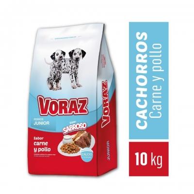 Balanceado VORAZ Junior x 10 kg