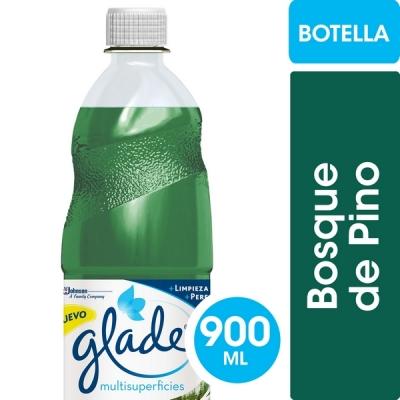 Limpiador Liquido GLADE Pino x 900 ml