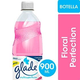 Limpiador Liquido GLADE Floral  x 900 ml