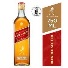 Whisky Johnnie Walker Red Label x 750 ml