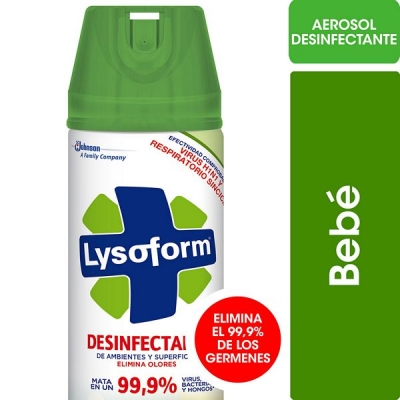 Desinfectante LYSOFORM Aerosol Bebe x 360 cm