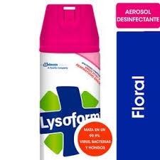 Desinfectante LYSOFORM Aerosol Floral x 360 cm