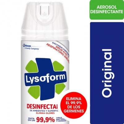 Desinfectante LYSOFORM Aerosol ORIGINAL x 360 cm