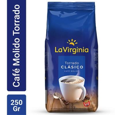 Cafe Molido Torrado LA VIRGINIA x 250 g