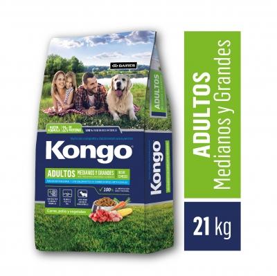 Balanceado KONGO Tradicional x 21 kg
