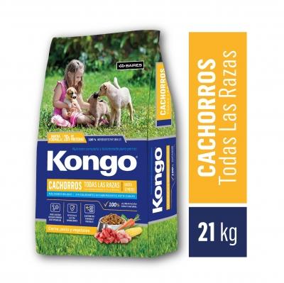Balanceado KONGO Cachorro x 21 kg