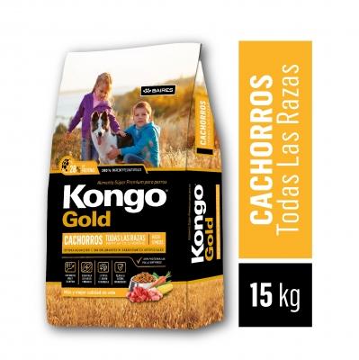 Balanceado KONGO GOLD Cachorro x 15 kg
