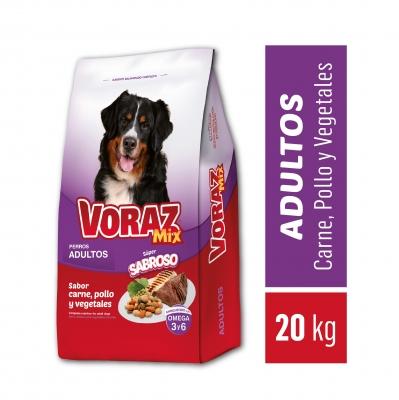 Balanceado VORAZ Mix x 20 kg