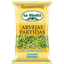 Legumbres LA ABADI Arvejas Partida x 400 gr