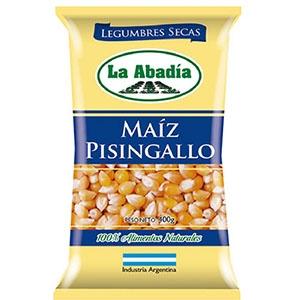 Legumbres LA ABADIA Maíz Pisingallo x 400 gr