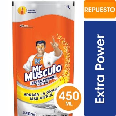 Limpiador Mr MUSCULO Cocina Doypack x 450 ml