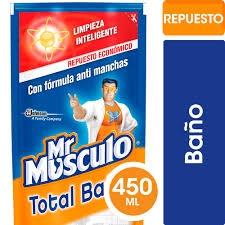 Limpiador Mr MUSCULO Baño Doypack x 450 ml