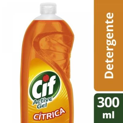 Detergente CIF Active Gel CITRICA x 300 ml