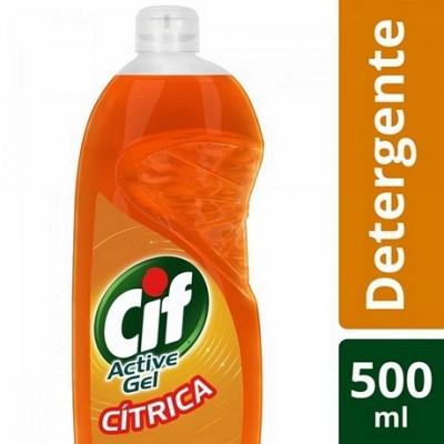 Detergente CIF Active gel CITRICA x 500 ml