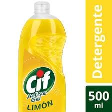 Detergente CIF Active Gel LIMON x 500 ml