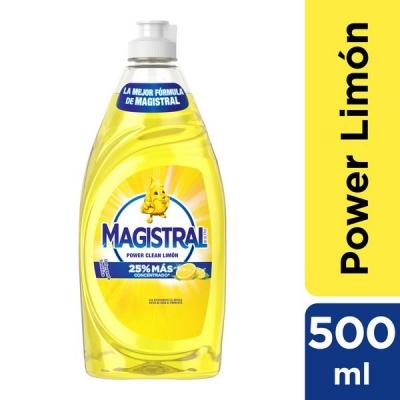 Detergente MAGISTRAL Limón x 500 ml