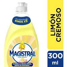 Detergente MAGISTRAL Limón Cremoso x 300 ml