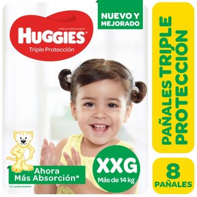Pañales HUGGIES Classic XXG x 8 unidades