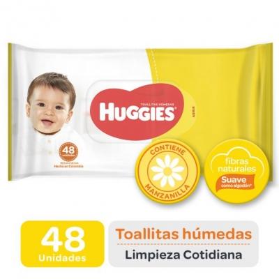 Toallitas Húmedas HUGGIES x 48 unidades