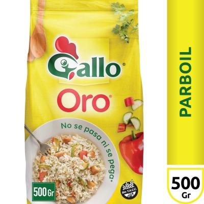 Arroz GALLO ORO Bolsa x 500 g