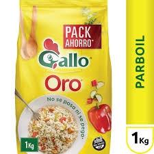 Arroz GALLO ORO Bolsa x 1 kg