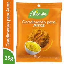 ALICANTE Condimento para Arroz x 25 g