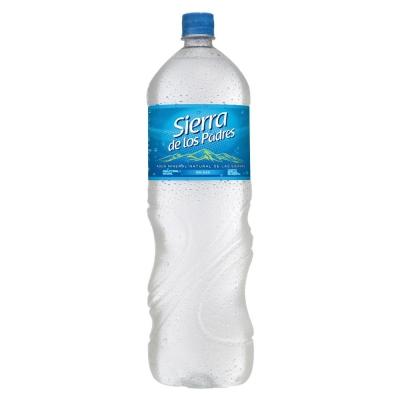 Agua SIERRA DE LOS PADRES Sin Gas x 2 L