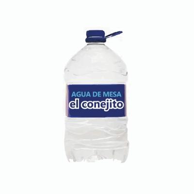 Agua EL CONEJITO x 8 L
