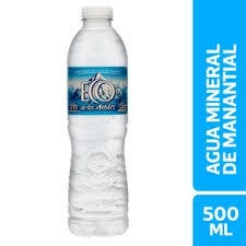 Agua ECO DE LOS ANDES x 500 ml