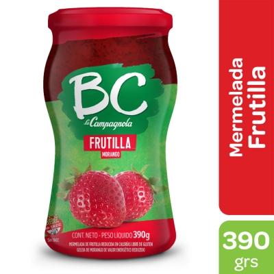Mermelada BC La Campagnola Frutilla x 390 g