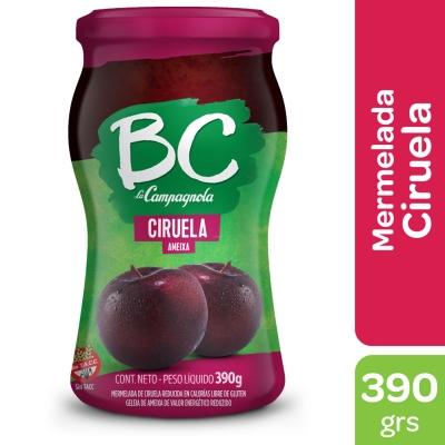 Mermelada BC La Campagnola Ciruela x 390 g