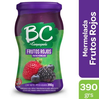 Mermelada BC La Campagnola Frutos Rojos x 390 g