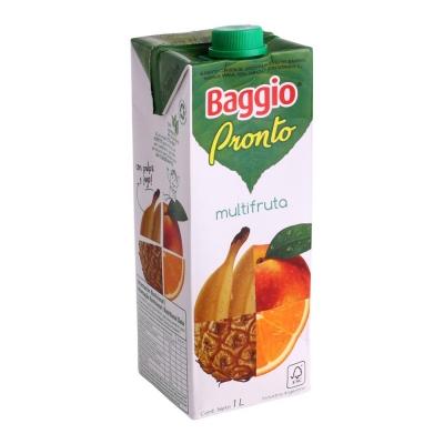 Jugo BAGGIO Pronto Multifruta x 1 L