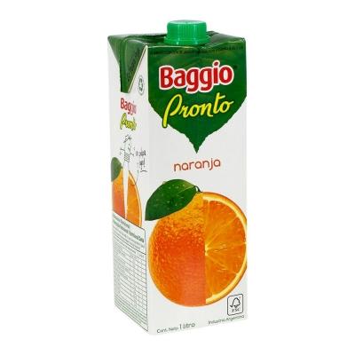 Jugo BAGGIO Pronto Naranja x 1 L