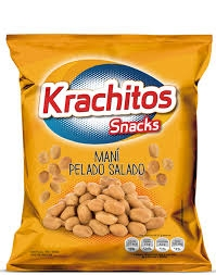 Snack Mani Pelado KRACHITOS x 65 g