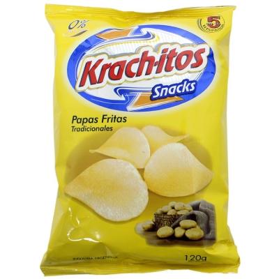 Snack Papas Fritas KRACHITOS Tradicional x 120 g
