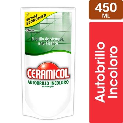 Autobrillo CERAMICOL Incoloro Doy Pack x 450 ml