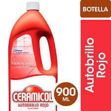Autobrillo Ceramicol Rojo x 900 ml