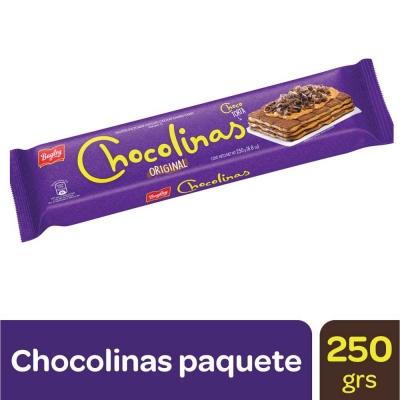 Galletitas CHOCOLINAS x 250 g