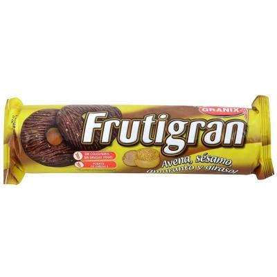 Galletitas FRUTIGRAN Semillas de Sésamo Amaranto y Girasol x 260 g