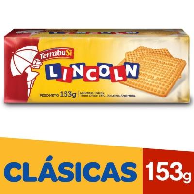 Galletitas LINCOLN Clasicas x 153 g