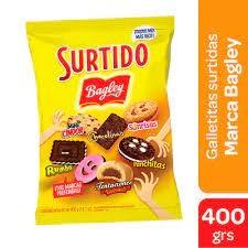 Galletitas SURTIDO x 400 g