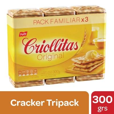 Galletitas CRIOLLITAS x 100 g x 3 Unidades