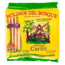 Galletitas de Arroz MOLINOS DEL BOSQUE x 150 g