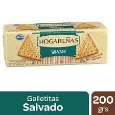 Galletitas HOGAREÑAS Salvado x 200 g