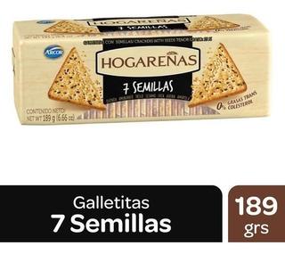 Galletitas HOGAREÑAS 7 Semillas x 189 g