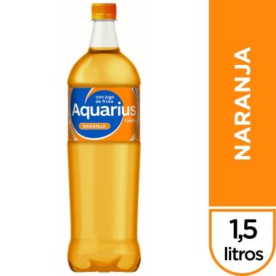 Agua Saborizada AQUARIUS Naranja x 1,5 L