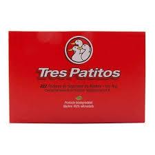 Fosforos TRES PATITOS x 222 unid