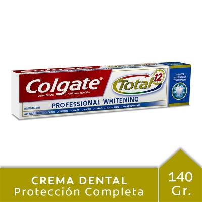 Crema Dental COLGATE TOTAL 12 Mint x 140 g