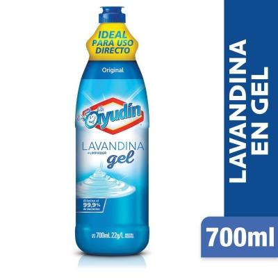 Lavandina en Gel AYUDIN Original x 700 ml